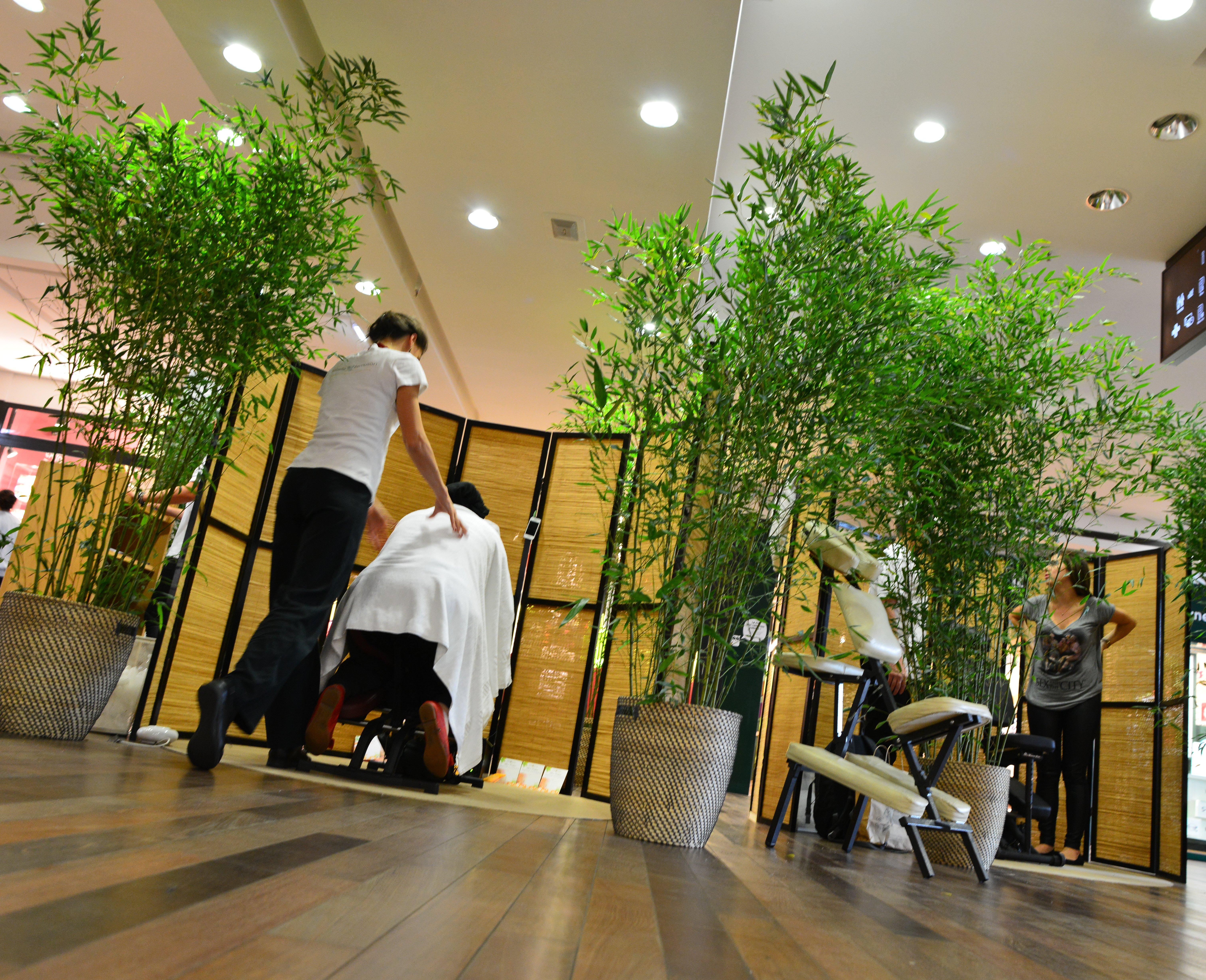 Massage-bien-etre et shiatsu et massage assis-sur-chaise